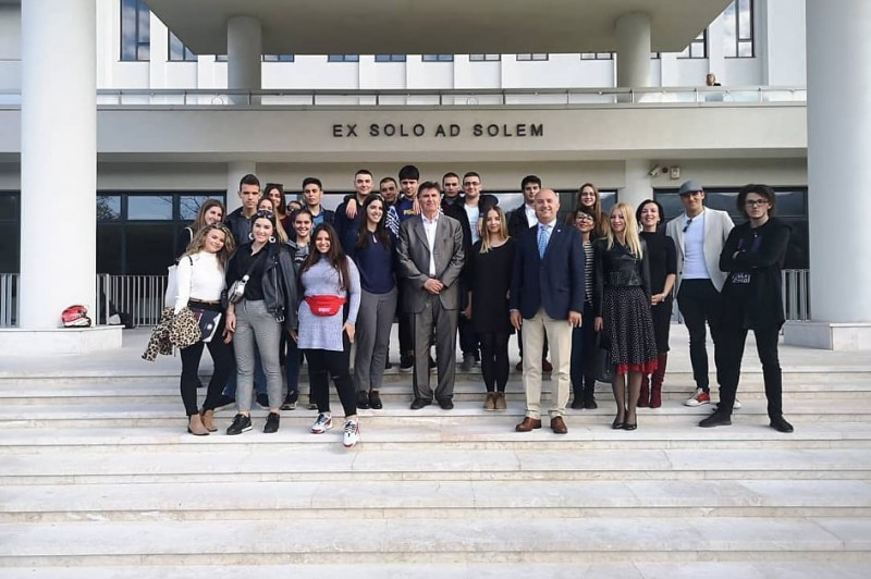 The fourth-grade students of Gymnasium SSST visited University Sarajevo School of Science and Technology (SSST)