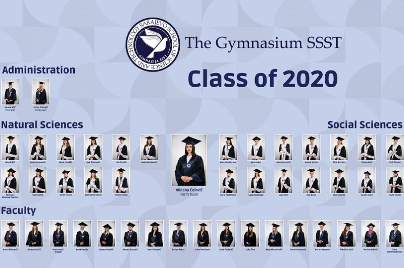 Presenting the first generation of graduates of Gymnasium SSST!